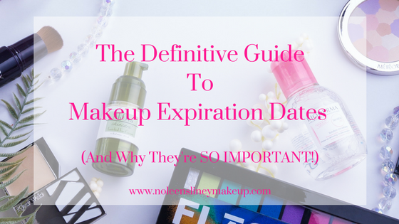 It's so important to know the makeup expiration dates of ALL your makeup products. This definitive guide will show you how to find them. And how to ensure your makeup bag is always a healthy one.