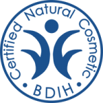 Another top natural and organic certification is from the German certifying body BDIH. As a brand must prove that all it's ingredients are of 100% natural origin too.