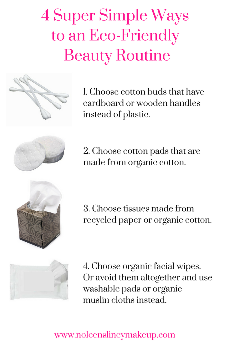 Even doing these 4 simple things will have you well on your way to a zero waste beauty routine and will have a really positive impact on the environment.