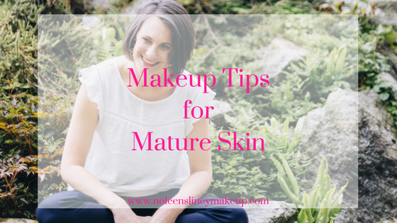 Follow these 3 simple rules of makeup for mature skin to have a glowing, youthful looking complexion.