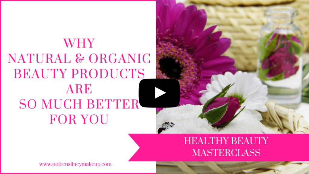 Once you know WHY natural and organic beauty products are so much better for you, you'll want to ditch all your mainstream beauty products and make the switch to green beauty products. However, I don't recommend that either.