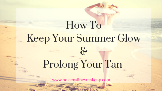 It's easy to extend your Summer glow and maintain a post-holiday tan with these super simple tips
