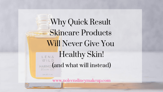 Quick result skincare products will never give you healthy skin. Nor will it help you cure skin conditions such as adult acne. But all is not lost. Here's what will help instead.